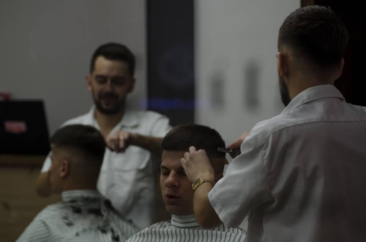 Military haircut