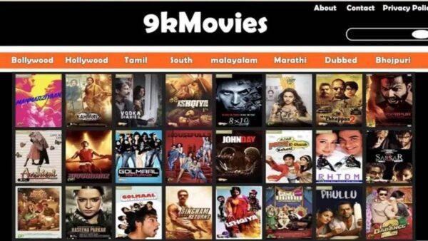 9kmovies 2021 New Link: Bollywood, Hollywood, South Movies Download HD website 9x