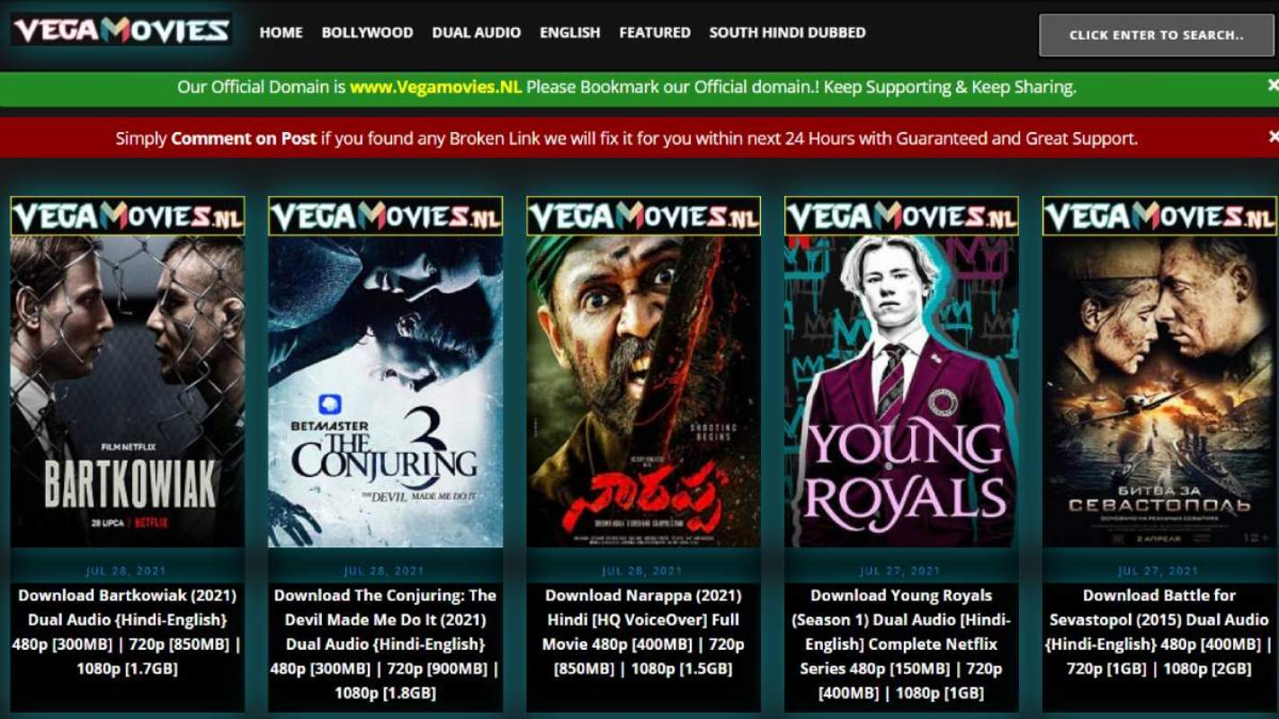 Vega movies