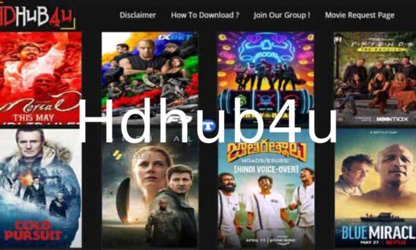 Hdhub4u 2021 – Website to download illegal HD movies